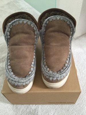 Mou Botas marrón claro-gris