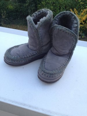 Mou Boots grau Gr.40