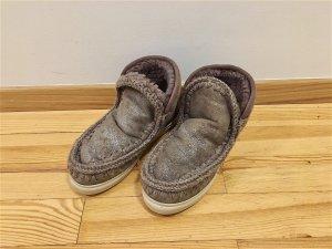 MOU Boots, grau metallic