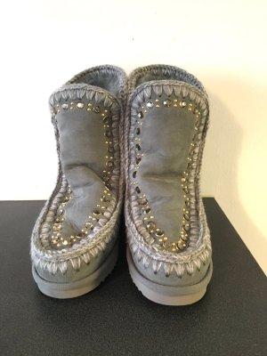 Mou Boots in schönem Grau