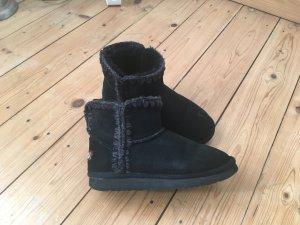 Mou Fell-Boots ESKIMO, 37, schwarz