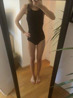 Minimum Blusa tipo body negro