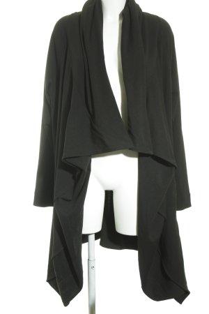 MOYURU Overgangsjas zwart straat-mode uitstraling