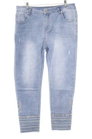Mozzaar 7/8 Jeans himmelblau Jeans-Optik