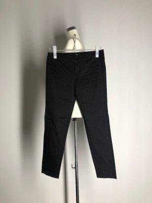 Pantalon 7/8 noir coton