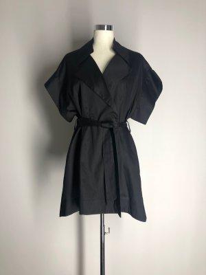 Blusa tipo kimono negro Algodón