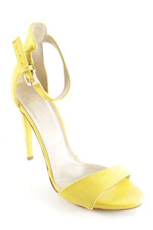 MPS High Heel Sandaletten gelb Elegant