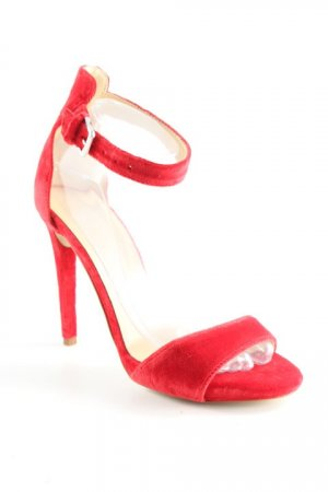 MPS High Heel Sandaletten rot extravaganter Stil