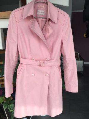 Mrs. FOXWORTHY Jacke Kurzmantel Trenchcoat in rosa, Gr. 40
