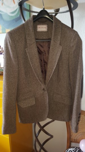 Mrs. Foxworthy Tweed Blazer braun Gr.38 (40)