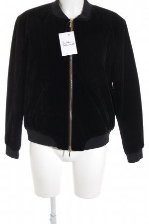 Mrs & HUGS Bomber Jacket black masculine look
