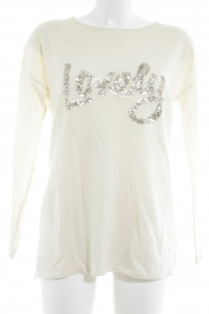 Mrs & HUGS Cashmerepullover creme Casual-Look