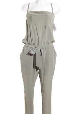 Mrs & HUGS Jumpsuit grüngrau Aztekenmuster Boho-Look
