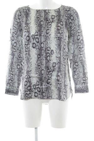 Mrs & HUGS Langarm-Bluse Animalmuster Elegant
