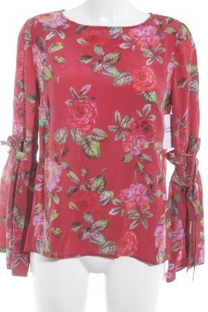 Mrs & HUGS Langarm-Bluse Blumenmuster Casual-Look