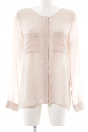 Mrs & HUGS Langarm-Bluse rosé Casual-Look