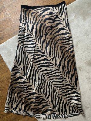 Mrs & HUGS Silk Skirt multicolored silk