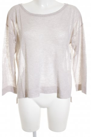 Mrs & HUGS Oversized Pullover nude Nude-Look