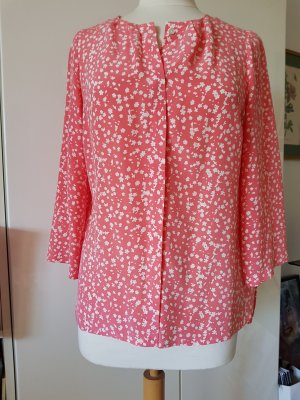 Mrs & HUGS Seidenkrepp - Bluse (100%)