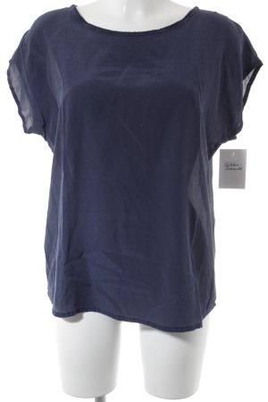 Mrs & HUGS T-Shirt grauviolett Casual-Look