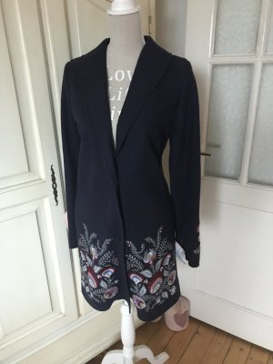 Mrs & HUGS Abrigo azul oscuro