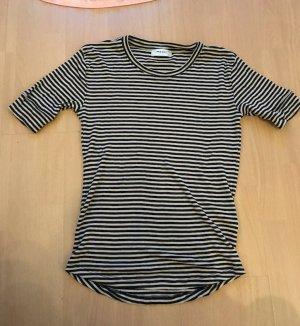 MSCH Moss Copenhagen Shirt Ringelshirt Ringel Streifen gestreift M