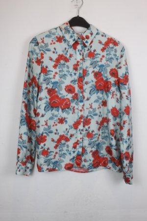 MSGM Zijden blouse veelkleurig Zijde