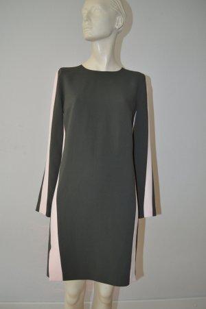 MSGM Kleid Gr. it40 (D34/36) gefüttert sehr hochwertig rosa/ graugrün