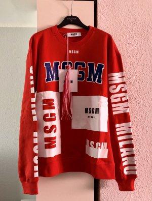 MSGM Milano Felpa Sweater Pullover
