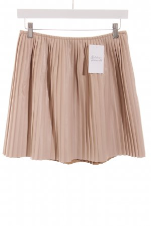 MSGM Pleated Skirt nude street-fashion look