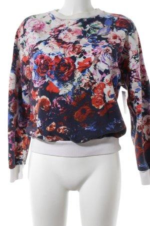 MSGM Sweatshirt florales Muster Romantik-Look