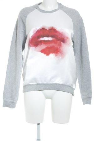 MSGM Sweatshirt mehrfarbig Casual-Look
