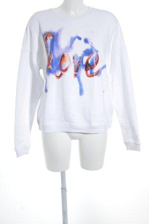 MSGM Suéter letras impresas estilo deportivo