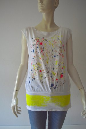MSGM T-shirt weiß, Top, Gr. S