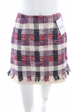 MSGM Wool Skirt multicolored classic style
