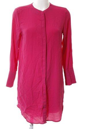 MTWTFSSWEEKDAY Blusenkleid magenta schlichter Stil