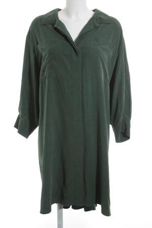 MTWTFSSWEEKDAY Blusenkleid waldgrün extravaganter Stil