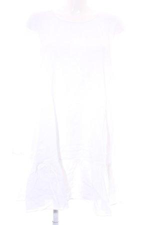 MTWTFSSWEEKDAY Blusenkleid weiß Casual-Look