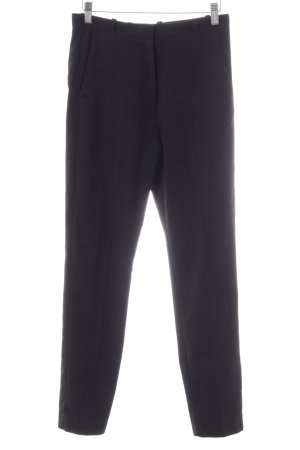 MTWTFSSWEEKDAY Bundfaltenhose schwarz Business-Look