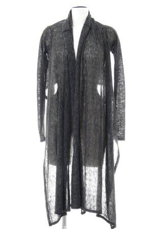 MTWTFSSWEEKDAY Cardigan dunkelgrau minimalistischer Stil