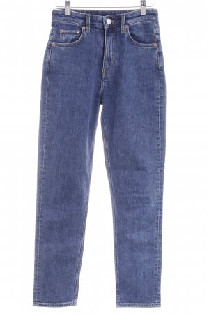 MTWTFSSWEEKDAY High Waist Jeans blau Casual-Look