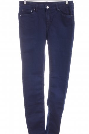 MTWTFSSWEEKDAY High Waist Jeans dunkelblau Casual-Look
