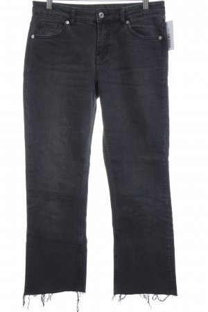 MTWTFSSWEEKDAY Low Rise jeans zwart Jeans-look