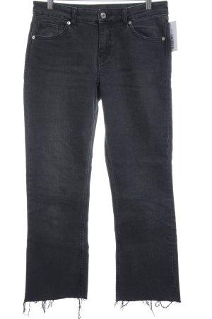 MTWTFSSWEEKDAY Hüftjeans schwarz Jeans-Optik