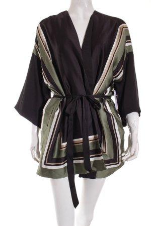 MTWTFSSWEEKDAY Kimono Streifenmuster Street-Fashion-Look