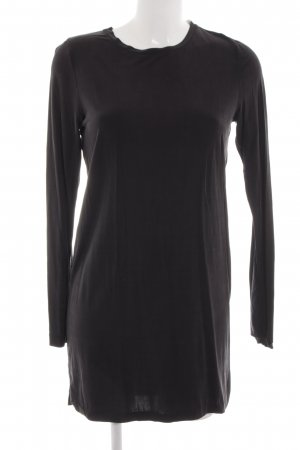 MTWTFSSWEEKDAY Langarmkleid schwarz Casual-Look