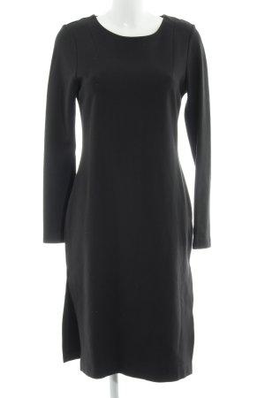 MTWTFSSWEEKDAY Langarmkleid schwarz minimalistischer Stil