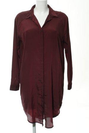 MTWTFSSWEEKDAY Long-Bluse karminrot klassischer Stil