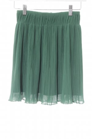 MTWTFSSWEEKDAY Pleated Skirt forest green Boho look