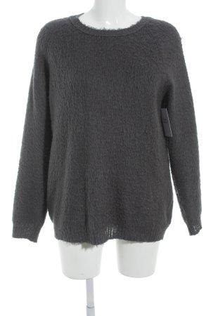 """MTWTFSSWEEKDAY Rundhalspullover """"PC Louise Knit Sweater"""" graublau"""
